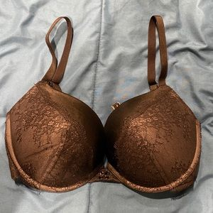 Victorias Secret Black Lace Pushup Bra 34DDD